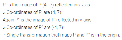 ML Aggarwal Class 10 Solutions for ICSE Maths Chapter 10 Reflection Chapter Test