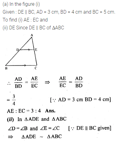 ML Aggarwal Class 10 Solutions for ICSE Maths Chapter 13 Similarity Ex 13.2