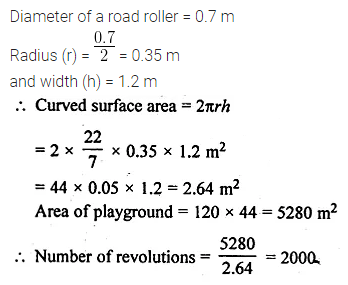 ML Aggarwal Class 10 Solutions for ICSE Maths Chapter 17 Mensuration Ex 17.1