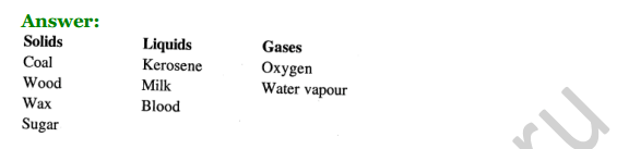 Selina Concise Chemistry Class 7 ICSE Solutions Chapter 1 Matter and Its Composition 6
