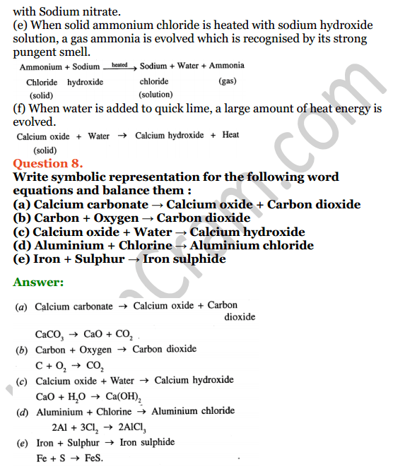Selina Concise Chemistry Class 7 ICSE Solutions Chapter 5 Language of Chemistry 5