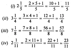 Selina Concise Mathematics Class 6 ICSE Solutions Chapter 14 Fractions Ex 14A 4