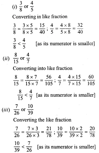 Selina Concise Mathematics Class 6 ICSE Solutions Chapter 14 Fractions Ex 14B 12