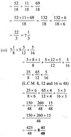 Selina Concise Mathematics Class 6 ICSE Solutions Chapter 14 Fractions Ex 14C 24
