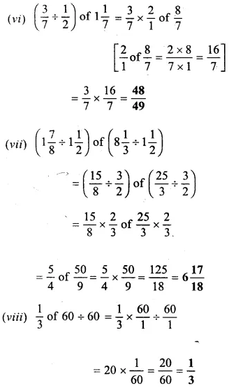 Selina Concise Mathematics Class 6 ICSE Solutions Chapter 14 Fractions Ex 14D 34
