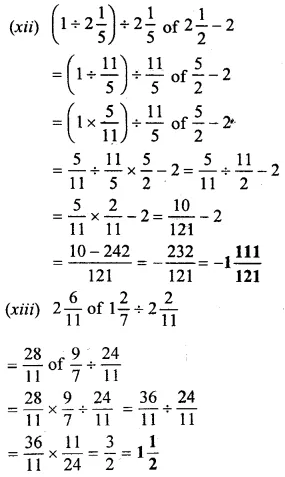 Selina Concise Mathematics Class 6 ICSE Solutions Chapter 14 Fractions Ex 14D 42