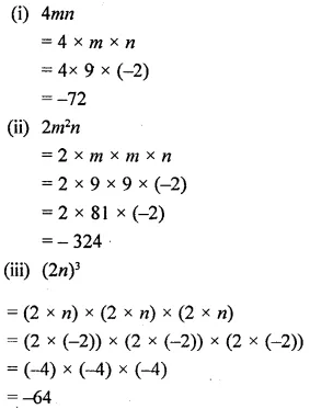 Selina Concise Mathematics Class 6 ICSE Solutions Chapter 21 Framing Algebraic Expressions 25