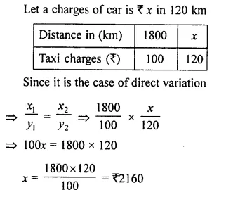 Selina Concise Mathematics Class 8 ICSE Solutions Chapter 10 Direct and Inverse Variations Ex 10A 5