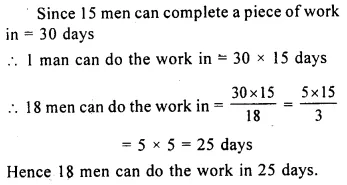 Selina Concise Mathematics Class 8 ICSE Solutions Chapter 10 Direct and Inverse Variations Ex 10C 21