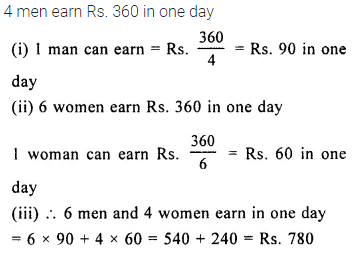 Selina Concise Mathematics Class 8 ICSE Solutions Chapter 10 Direct and Inverse Variations Ex 10C 27