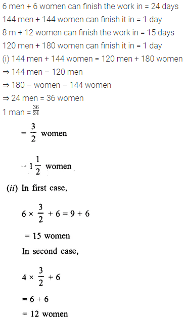 Selina Concise Mathematics Class 8 ICSE Solutions Chapter 10 Direct and Inverse Variations Ex 10C 32