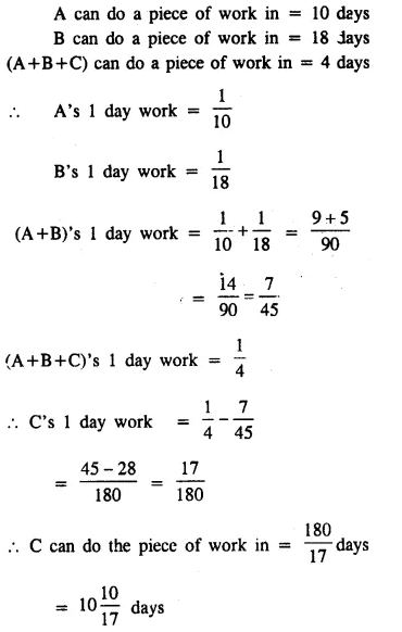 Selina Concise Mathematics Class 8 ICSE Solutions Chapter 10 Direct and Inverse Variations Ex 10E 56