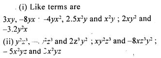 Selina Concise Mathematics Class 8 ICSE Solutions Chapter 11 Algebraic Expressions (Including Operations on Algebraic Expressions) Ex 11A 7