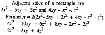 Selina Concise Mathematics Class 8 ICSE Solutions Chapter 11 Algebraic Expressions (Including Operations on Algebraic Expressions) Ex 11B 21