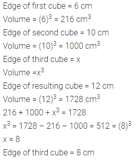 Selina Concise Mathematics Class 8 ICSE Solutions Chapter 21 Surface Area, Volume and Capacity (Cuboid, Cube and Cylinder) Ex 21C 26
