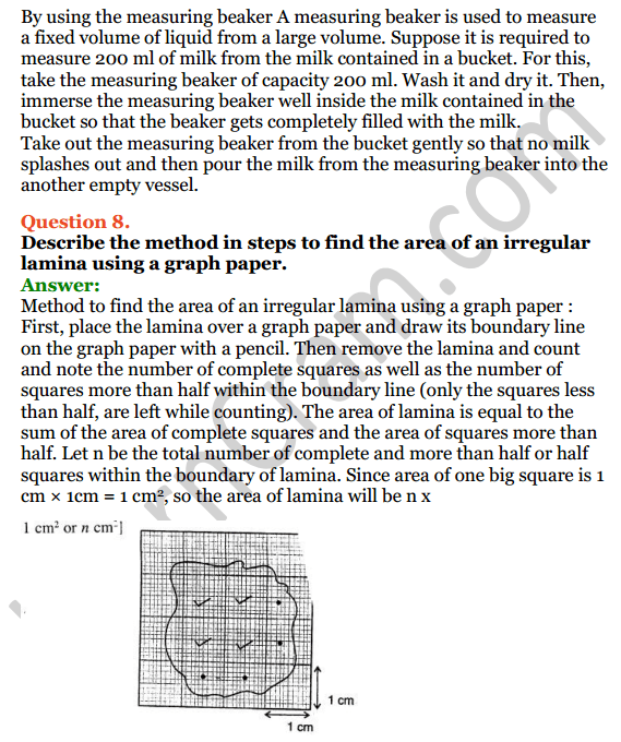 Selina Concise Physics Class 7 ICSE Solutions Chapter 1 Physical Quantities and Measurement 8