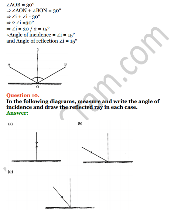 Selina Concise Physics Class 7 ICSE Solutions Chapter 4 Light Energy 10