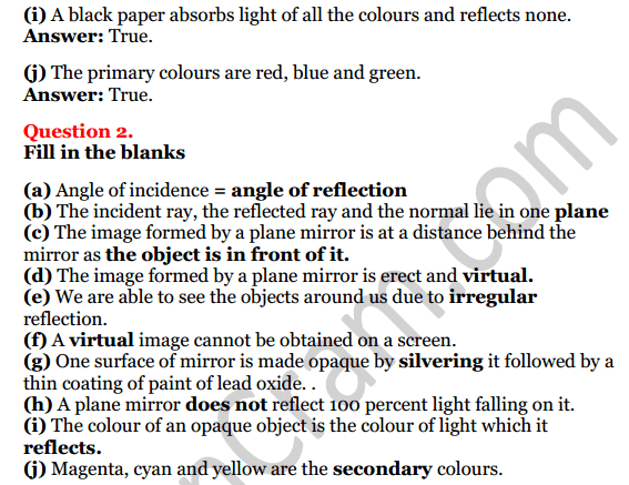 Selina Concise Physics Class 7 ICSE Solutions Chapter 4 Light Energy 2