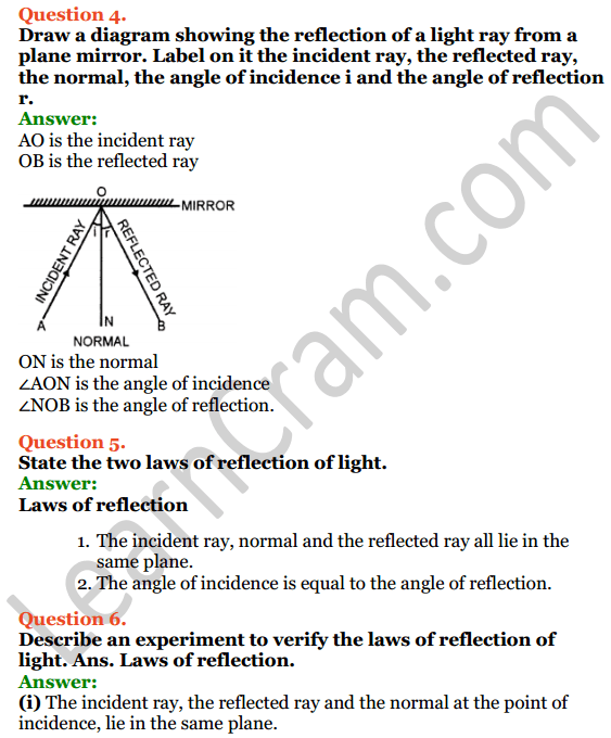 Selina Concise Physics Class 7 ICSE Solutions Chapter 4 Light Energy 7