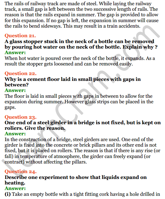 Selina Concise Physics Class 7 ICSE Solutions Chapter 5 Heat 10