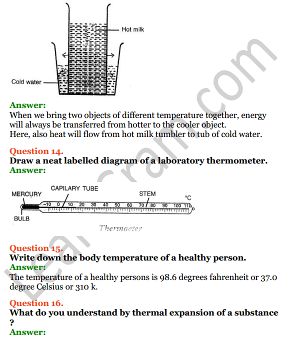 Selina Concise Physics Class 7 ICSE Solutions Chapter 5 Heat 8