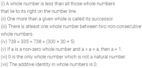 ML Aggarwal Class 6 Solutions for ICSE Maths Chapter 2 Whole Numbers Objective Type Questions 1