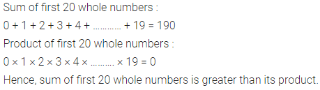 ML Aggarwal Class 6 Solutions for ICSE Maths Chapter 2 Whole Numbers Objective Type Questions 18