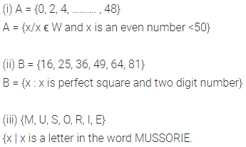 ML Aggarwal Class 6 Solutions for ICSE Maths Chapter 5 Sets Check Your Progress 5