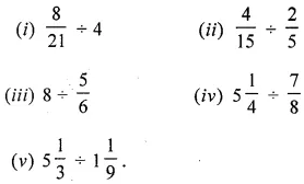 ML Aggarwal Class 6 Solutions for ICSE Maths Chapter 6 Fractions Ex 6.6 6