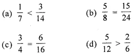 ML Aggarwal Class 6 Solutions for ICSE Maths Chapter 6 Fractions Objective Type Questions 22