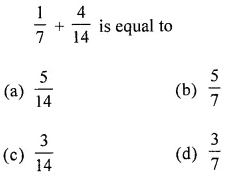 ML Aggarwal Class 6 Solutions for ICSE Maths Chapter 6 Fractions Objective Type Questions 24