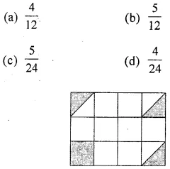 ML Aggarwal Class 6 Solutions for ICSE Maths Chapter 6 Fractions Objective Type Questions 5