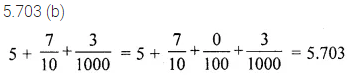 ML Aggarwal Class 6 Solutions for ICSE Maths Chapter 7 Decimals Objective Type Questions 11