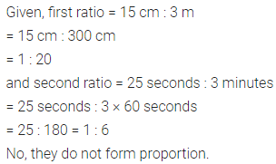 ML Aggarwal Class 6 Solutions for ICSE Maths Chapter 8 Ratio and Proportion Check Your Progress 5