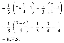 ML Aggarwal Class 6 Solutions for ICSE Maths Chapter 9 Algebra Check Your Progress 13