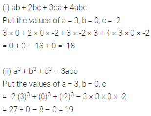 ML Aggarwal Class 6 Solutions for ICSE Maths Chapter 9 Algebra Check Your Progress 7