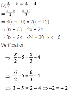 ML Aggarwal Class 6 Solutions for ICSE Maths Chapter 9 Algebra Ex 9.5 11
