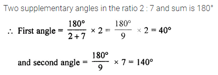 ML Aggarwal Class 7 Solutions for ICSE Maths Chapter 10 Lines and Angles Ex 10.1 8
