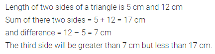 ML Aggarwal Class 7 Solutions for ICSE Maths Chapter 11 Triangles and its Properties Check Your Progress 14