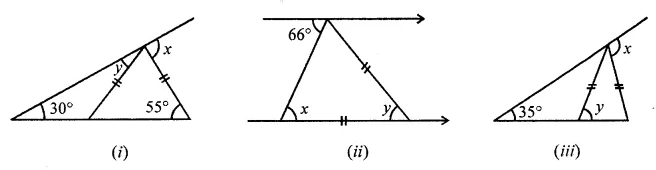 ML Aggarwal Class 7 Solutions for ICSE Maths Chapter 11 Triangles and its Properties Check Your Progress 6