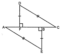 ML Aggarwal Class 7 Solutions for ICSE Maths Chapter 12 Congruence of Triangles Check Your Progress 9
