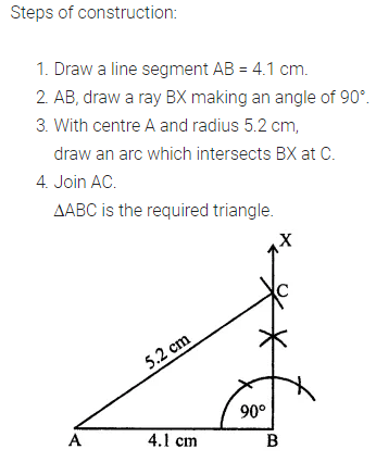 ML Aggarwal Class 7 Solutions for ICSE Maths Chapter 13 Practical Geometry Ex 13 14
