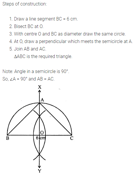 ML Aggarwal Class 7 Solutions for ICSE Maths Chapter 13 Practical Geometry Objective Type Questions 2