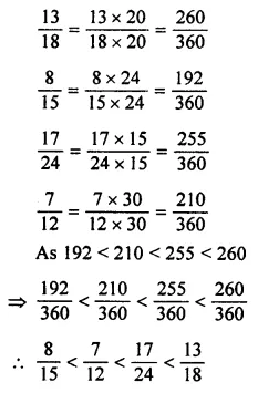 ML Aggarwal Class 7 Solutions for ICSE Maths Chapter 2 Fractions and Decimals Ex 2.1 21