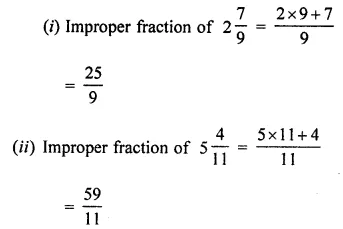 ML Aggarwal Class 7 Solutions for ICSE Maths Chapter 2 Fractions and Decimals Ex 2.1 4
