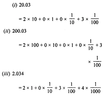 ML Aggarwal Class 7 Solutions for ICSE Maths Chapter 2 Fractions and Decimals Ex 2.5 1