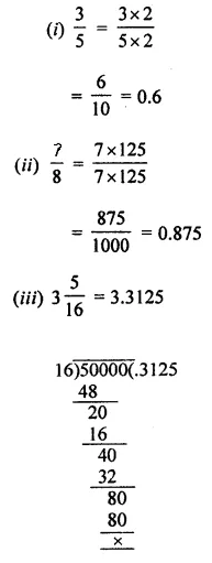 ML Aggarwal Class 7 Solutions for ICSE Maths Chapter 2 Fractions and Decimals Ex 2.5 5