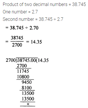 ML Aggarwal Class 7 Solutions for ICSE Maths Chapter 2 Fractions and Decimals Ex 2.6 17
