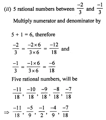 ML Aggarwal Class 7 Solutions for ICSE Maths Chapter 3 Rational Numbers Ex 3.2 19