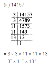 ML Aggarwal Class 7 Solutions for ICSE Maths Chapter 4 Exponents and Powers Check Your Progress 10